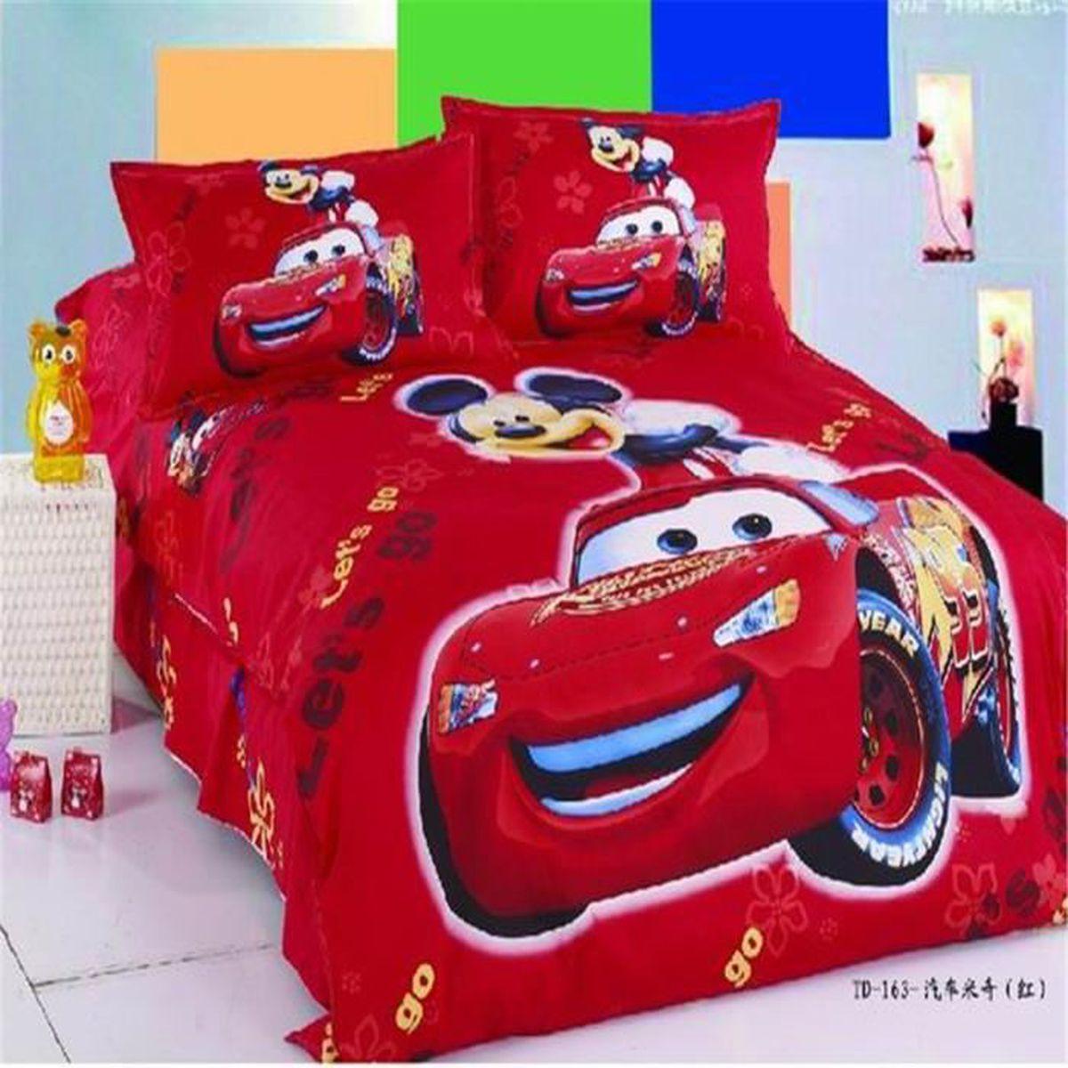 housse de couette enfant mickey achat vente housse de couette enfant mickey pas cher. Black Bedroom Furniture Sets. Home Design Ideas