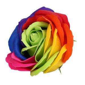 DISTRIBUTEUR DE SAVON Boîte à savon Boîte à fleurs en bois de rose color