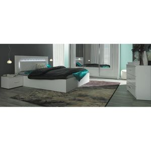 chambre complete price factory lit led chevets commode panarea