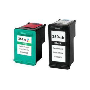 CARTOUCHE IMPRIMANTE Pack 2 Cartouches d'encre compatible HP 350/351 xl