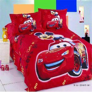 Parure de lit voiture achat vente parure de lit for Housse de couette voiture de course