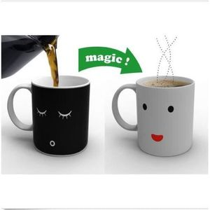 MEUBLE RANGE BOUTEILLE Nouveau, Magic Morning Mug Chaleur Couleur changem
