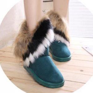 BOTTE 8.5  -l'hiver chaud lapin longues bottes pour la n