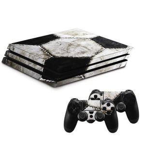 STICKER - SKIN CONSOLE KIT PERSONNALISATION PS4 PRO SOCCER