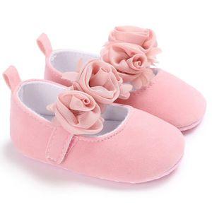 EOZY Chaussure Bébé Fille Princesse Shoes Anti-Dérapage Souple Respirant Mode Blanc SveFb