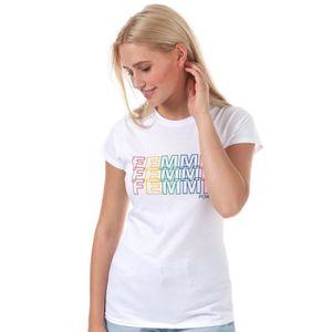 T-SHIRT T-Shirt Daisy Street Femme pour femme en blanc.