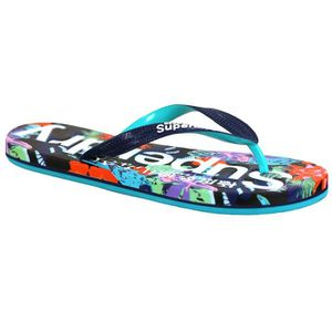 TONG SUPERDRY Superdry Aop Flip Flop Tong Femme - Taill
