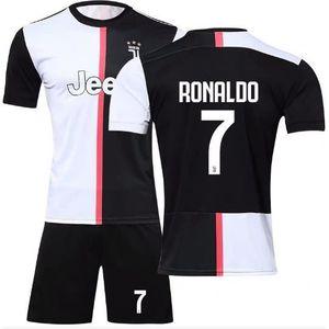 717b33e027b88 TENUE DE FOOTBALL Maillot Cristiano Ronaldo NO.7 Juventus F.C.19/20