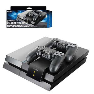 DOCK DE CHARGE MANETTE Nyko Dual Modular Pour 2 Manettes Sony PlayStation