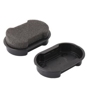 CIRAGE ET ENTRETIEN Sac à main chaussures en cuir canapé éponge nettoy