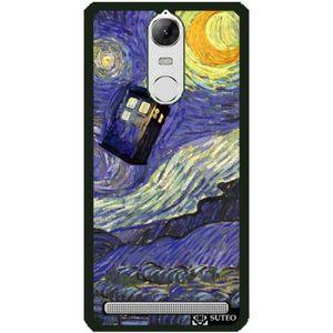 COQUE - BUMPER Coque Lenovo K5 Note - La nuit étoilée de Vincent