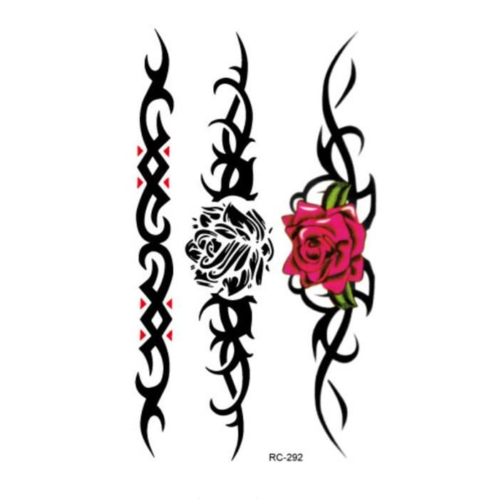 Tatouage Tribal Rose Finest Tribal Rose Tattoo Designs For Women