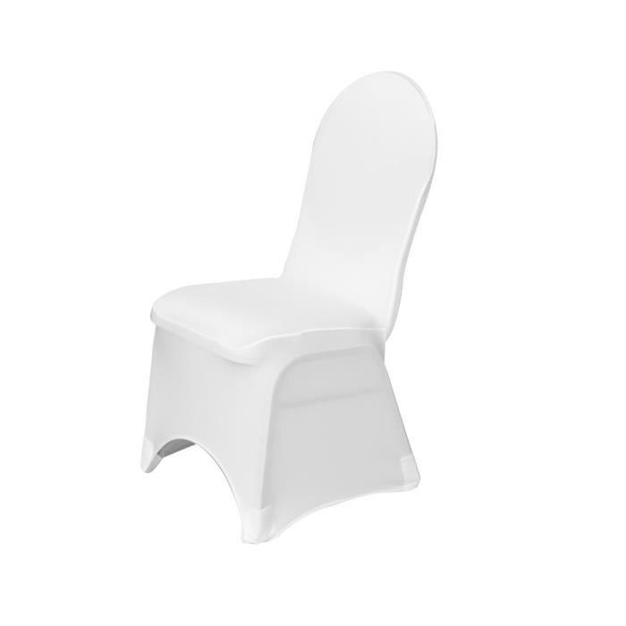 Housse de chaise en lycra achat vente housse de chaise - Housse de chaise pas chere ...