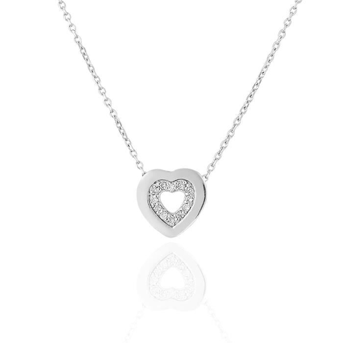 Collier CLEOR Or 375/1000 Diamants 0,06 ct