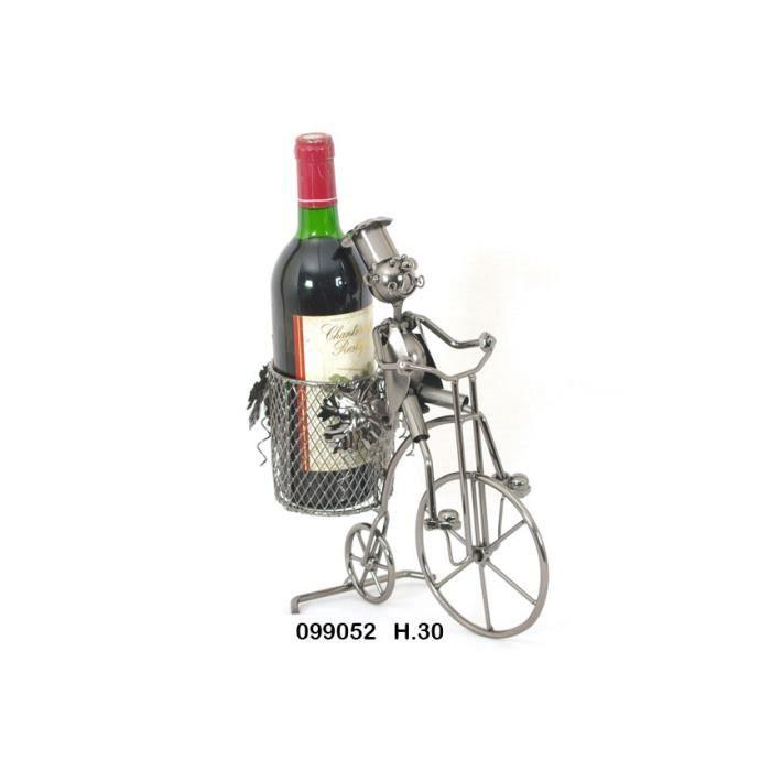 Velo porte bouteille de table achat vente coffret cadeau vin velo porte bouteille de tab - Porte bouteille de table ...