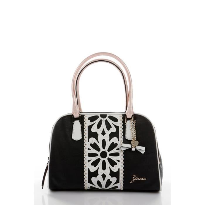 sac a main femme noir et blanc