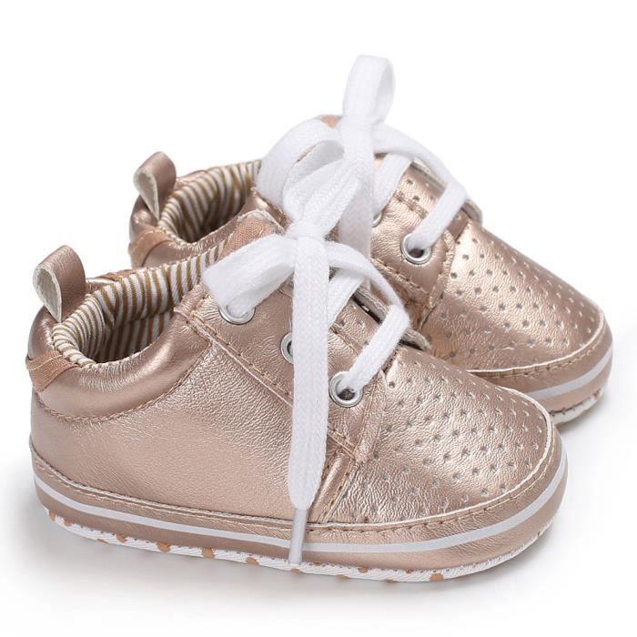 BOTTE Toddler bébé cravate chaussures souples crèche chaussures bébé garçons filles chaussures décontractées@OrHM DyzgJXIwW