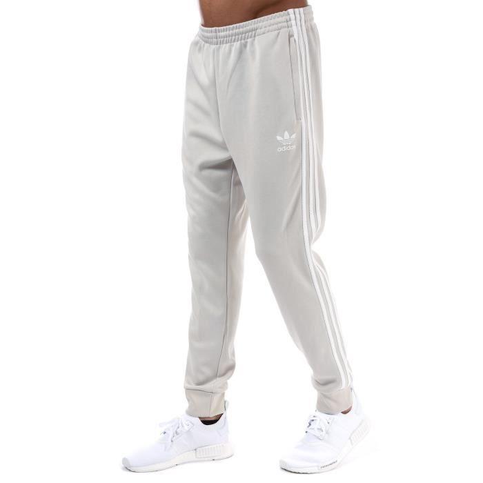 95194043f6d99 Pantalon adidas Originals SST Mesh pour homme en beige Crème - Achat ...