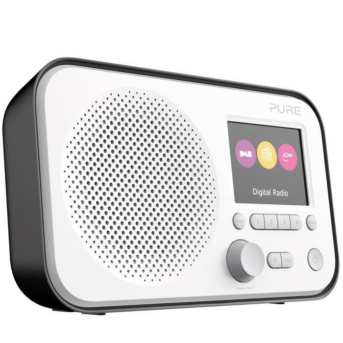 Pure Vl De 62956elan E3dab-dab Digital Et Radio Fm Avec Minuteur Cuisine (noir)