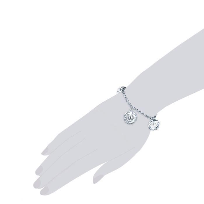 Lulu Jane - Bracelet bracelet maille forçat