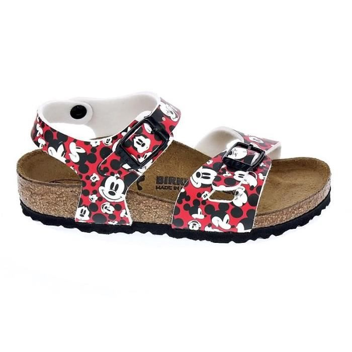 Chaussures Birkenstock FilleSandales modèle Rio Funny Mickey Wv6Nc7s