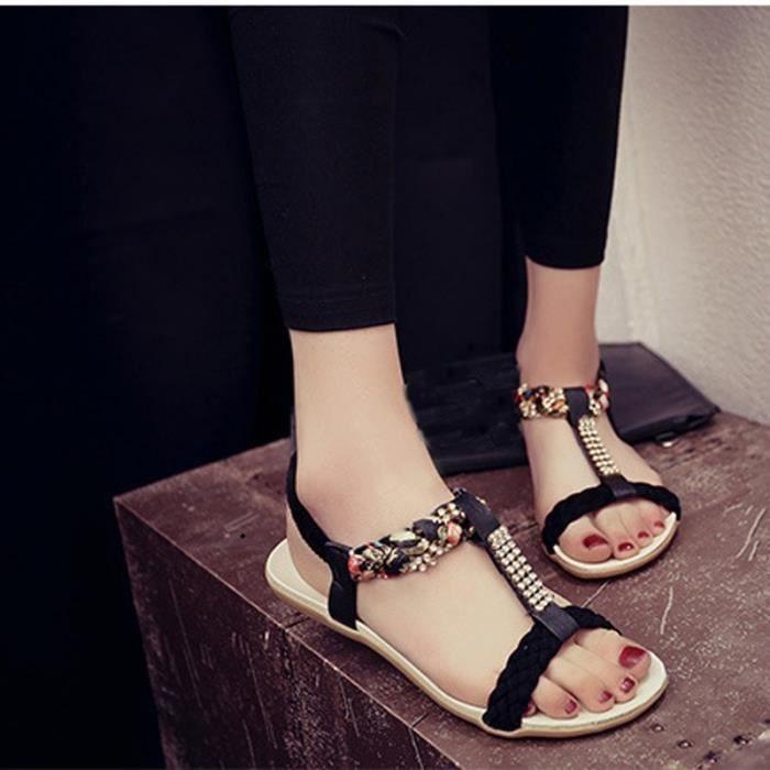 Sandales d'été Simple Mode Plage Tendance