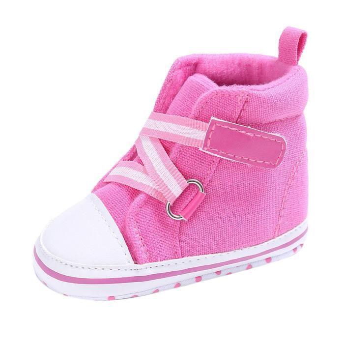 souple bébé fille né RoseHM chaussures nouveau Chaussures à BOTTE crèche semelle garçon Sw7qvnx