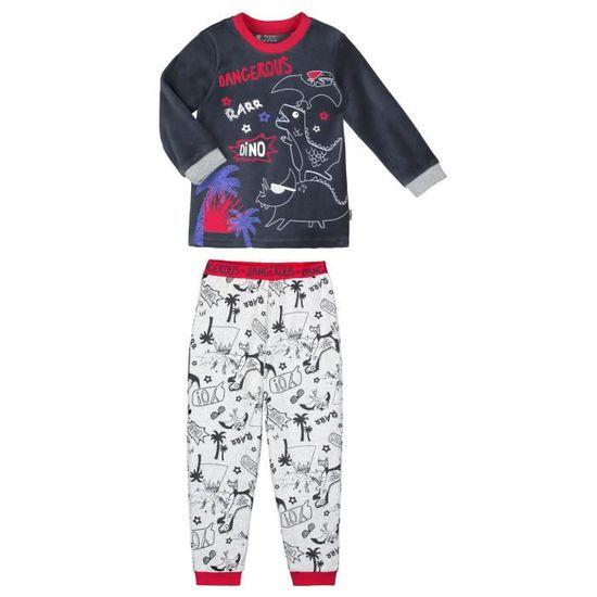 a482b1c81a429 Lot de 2 pyjamas garçon manches longues Dino boy - Taille - 2 ans (92 cm)  Multicolor - Achat / Vente pyjama - Cdiscount