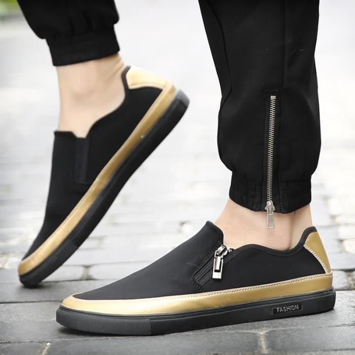 Les hommes Fahsion Sneakers Mocassins Suede Casual