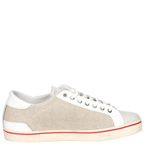 D.a.t.e. Petite Sneakers Homme Beige, 44