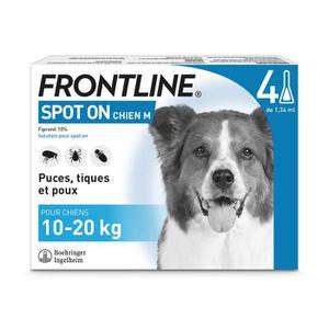 FRONTLINE Pipettes 4x1,34ml - Pour chien de 10-20kg