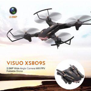 DRONE Drone VISUO XS809S 0.3MP Grand Angle Caméra WiFi F