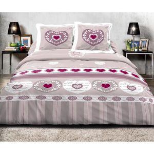 parure de drap 2 personnes achat vente pas cher. Black Bedroom Furniture Sets. Home Design Ideas