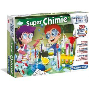 EXPÉRIENCE SCIENTIFIQUE CLEMENTONI Super Chimie