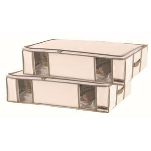 housse de rangement achat vente housse de rangement pas cher cdiscount. Black Bedroom Furniture Sets. Home Design Ideas