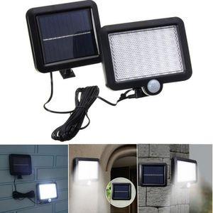 PROJECTEUR EXTÉRIEUR Lampe solaire étanche, 56 LED Projecteur Extérieur
