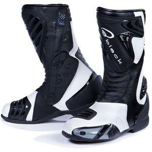 BOTTE Zéro bottes de moto noires