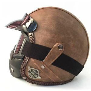 CASQUE MOTO SCOOTER 2018 nouveau casque moto cool avec masque 5