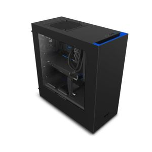 BOITIER PC  NZXT Boîtier PC S340 - Noir/Bleu - Moyen Tour - Fe
