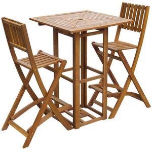 Table haute exterieur - Achat / Vente pas cher