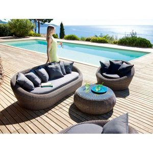 Emejing Salon De Jardin Java Gris Ideas - House Design - marcomilone.com