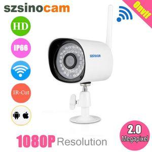 CAMÉRA IP Szsinocam 1080p 2.0 Mégapixels Waterproof WLAN san