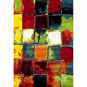 TAPIS BELIS Tapis de salon contemporain 160x230 cm vert,