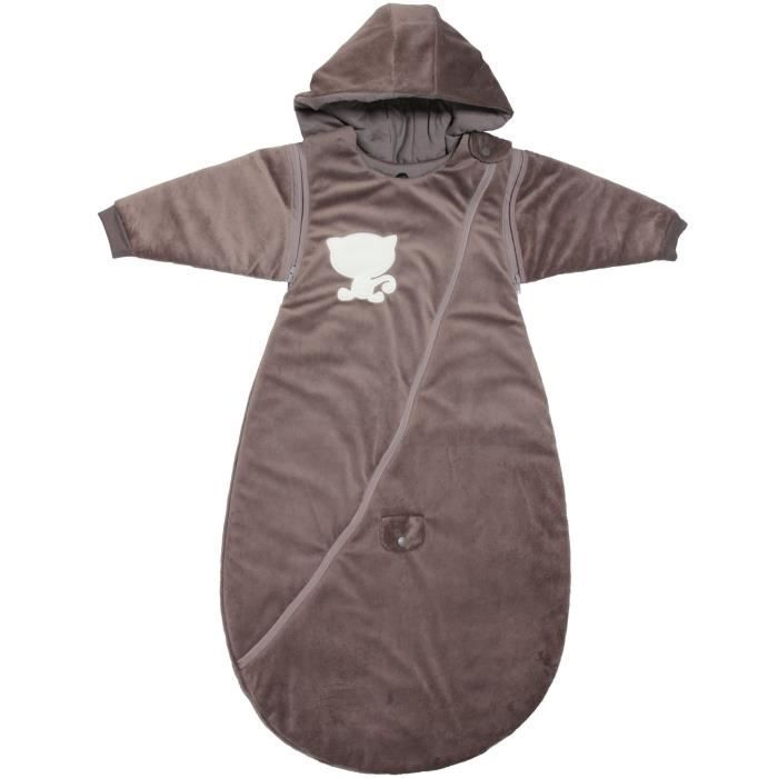BABYCALIN Douillette 2eme âge taupe