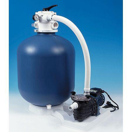 AQUALUX Platine de filtration pour bassin jusqu'à 90m³ 12m³/H