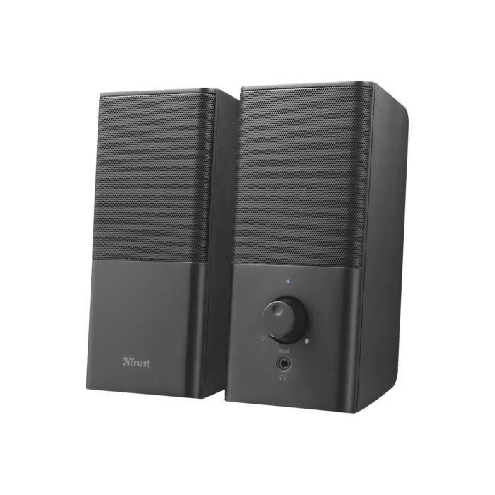 TRUST Teros Haut-parleurs pour PC Canal 2.1 12 Watt (Totale)