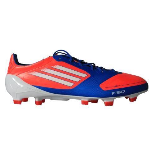 en ligne chaussures pour pas cher diversifié dans l'emballage Adidas F50 Adizero TRX FG Bleu / orange - Prix pas cher ...