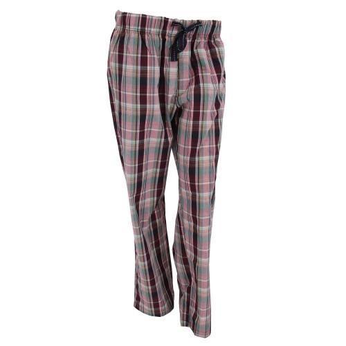 Femme Bleux De Carreaux À Roses carreaux Pyjama Pantalon qOwxAz