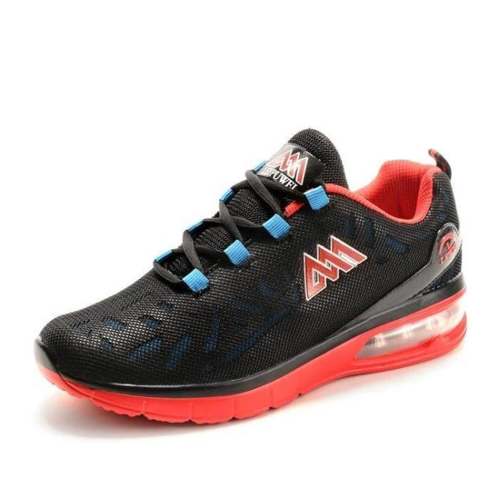 Chaussure De Course Respirant Courir Caoutchouc Confort En Toute LéGèReté Route Homme Noir R30917848_1608 fFWgY9ks