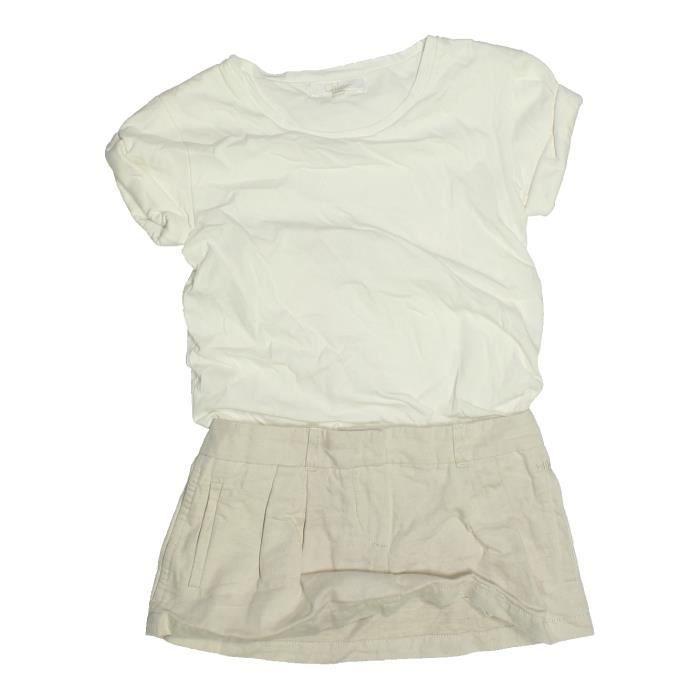 4002f5f9d82a0 Robe enfant fille CHLOÉ 4 ans blanc été - vêtement bébé  1085441 ...